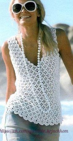 Mis Pasatiempos  Amo el Crochet: Top