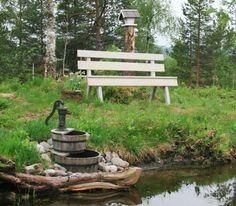 Gammel fontene