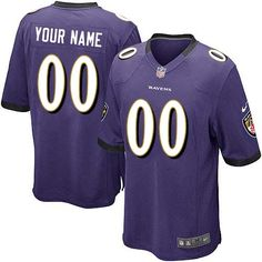 f7cfd3409 Nike Baltimore Ravens Ed Reed Elite Purple Youth Super Bowl XLVII NFL  Stitched Jersey