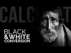 Make Kick-Ass Black and White Conversions Using Calculations in Photoshop Photoshop Youtube, Photoshop Tutorial, Photoshop Actions, Adobe Photoshop, Photoshop Black And White, Black And White Portraits, Photoshop For Photographers, Photoshop Photography, Photography Camera