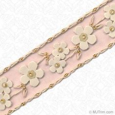 Taffeta Wired Edge Ribbon Lace Trim Embroidery Applique Fabric Delicate DIY Art Craft Supply for Scrapbooking Gift Wrapping~Grey~ed Accent~2 1//2 W X 9 Yd