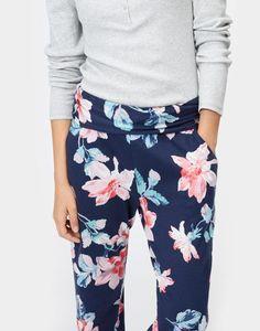Estrella Blue Jersey Pyjama Bottoms  | Joules US