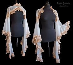 Angelic shrug ivory, Somnia Romantica by M. Turin by SomniaRomantica on DeviantArt Pretty Outfits, Cool Outfits, Fashion Outfits, Costume Prince, Mode Kawaii, Fantasy Dress, Character Outfits, Look Cool, Pulls