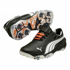 Puma Men's Biofusion / White/ Silver Golf Shoes