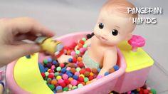 Mainan Boneka ❤ Boneka Mandi Bola ❤ Mainan Ice Cream ❤ Bola Warna Warni