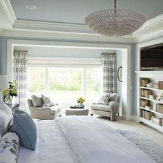 Parkwood Road Residence Master Bedroom - traditional - Bedroom - Minneapolis - Martha O'Hara Interiors