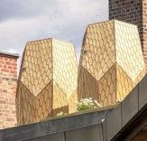 Snøhetta's Vulkan Hives Bring Urban Beekeeping to a Rooftop in Oslo | Inhabitat - Sustainable Design Innovation, Eco Architecture, Green Building
