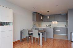 Basalt Grey Matt Kitchen installed by LWK Kitchens, London G Shaped Kitchen, Home Organization Hacks, Organizing, Kitchen Installation, Kitchen Design, Grey, Modern Kitchens, Table, House