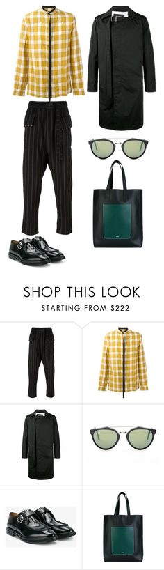 """mens street style"" by statuslusso ❤ liked on Polyvore featuring DAMIR DOMA, Raf Simons, RetroSuperFuture, Alexander McQueen, AMI, men's fashion and menswear"