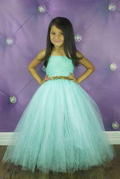 Jasmine Inspired Tutu Dress by krystalhylton on Etsy