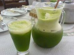 Receita de Suco verde refrescante - Tudo Gostoso