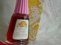 AVON Hello Sunshine Nail Tint | 1980s, Cosmetics and Avon