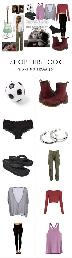 """Kat Stratford"" by darlingdame92 on Polyvore featuring Ball, Dr. Martens, Calvin Klein, Coach, Mossimo Supply Co., rag & bone, Fine Collection, Topshop, Ambra and Patagonia"