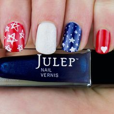 4th of July nails :)