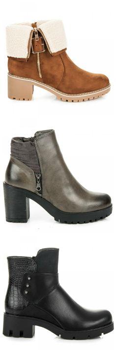 Členkové čižmy s hrubou podrážkou Chelsea Boots, Platform, Ankle, Shoes, Fashion, Moda, Zapatos, Wall Plug, Shoes Outlet