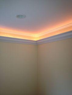 crown molding lighting diy | mouldings | pinterest | cove, Wohnzimmer dekoo
