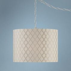Embroidered Hourglass Swag Style Plug In Chandelier   #W2871 |  LampsPlus.com   · Dining Room ...