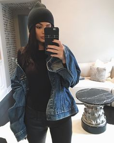 Find images and videos about outfit, moda and kylie jenner on We Heart It - the app to get lost in what you love. Khloe Kardashian, Kardashian Kollection, Kris Jenner, Kylie Jenner Mode, Kylie Jenner Outfits, Casual Outfits, Cute Outfits, Fashion Outfits, Denim Outfits