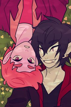 Prince Gumball and Marshall Lee (Adventure Time) Art Adventure Time, Marshall Lee Adventure Time, Adventure Time Marceline, Marshall Lee X Prince Gumball, Adveture Time, Marceline And Princess Bubblegum, Bubbline, Cute Gay Couples, Wattpad