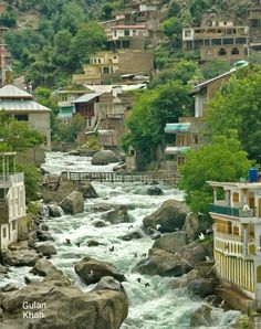 Awesome view of Bahrain beauty Swat valley Khyber Pakhtunkhwa Pakistan