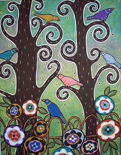 6 Birds by karlagerard, via Flickr