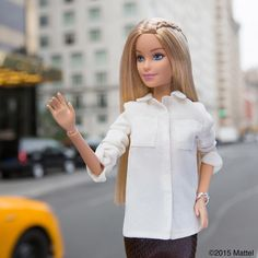 Taxi! Take me to the airport, I'm heading home!  #barbie #barbiestyle