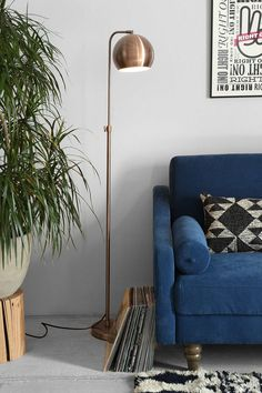 Gumball lamp - Gold, silver, copper | UrbanOutfitters.com: Awesome stuff for you & your space