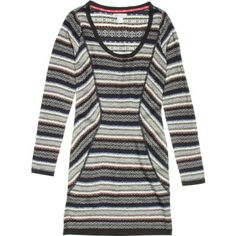 Whether visiting New York or taking in the sites in York, England, go ahead and show off a little in the Element York Dress. This long sleeve sweater style dress keeps you warm on top while showing off your legs, and the acrylic fabric is comfortable for times your daytime window shopping extends into night.