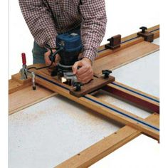 If your budget won't allow for a planer just yet, we have a solution. Our surfacing jig turns a router into a serviceable planer. Woodworking Jigsaw, Rockler Woodworking, Woodworking Patterns, Woodworking Supplies, Woodworking Classes, Easy Woodworking Projects, Popular Woodworking, Woodworking Techniques, Woodworking Videos