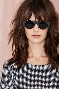 Sometimes those cat-eye shades and aviators just aren't enough.