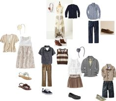 """""""Spring Family Pictures- Neutral"""" by tls63 on Polyvore"""