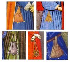 Mittelaltertaschen in Trapezform