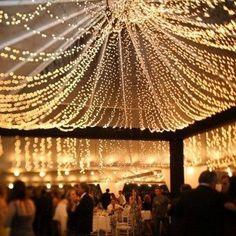The lights!