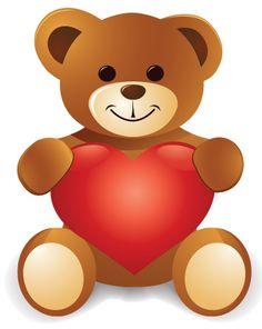 saint valentin - Page 18 Teddy Bear Images, Teddy Bear Pictures, Bear Pics, Teddy Bear Tattoos, Valentines Day Teddy Bear, Bear Clipart, Clipart Baby, Mickey Mouse Images, Hug Gif