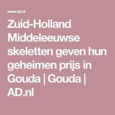 Zuid-Holland Middeleeuwse skeletten geven hun geheimen prijs in Gouda | Gouda | AD.nl