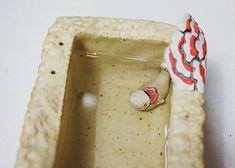 하늘빚다 사각수반 : 네이버 블로그 Feta, Cheese, Ceramic Flowers