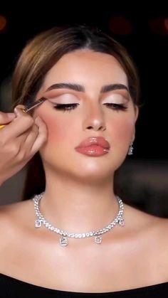 Wedding Makeup For Blue Eyes, Wedding Eye Makeup, Fancy Makeup, Formal Makeup, Blue Eye Makeup, Bride Makeup, Makeup For Brown Eyes, Girls Makeup, Pretty Makeup