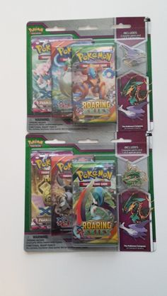 2 x Three Booster Pack plus Collector Pin Gift Set + Mystery Packs + Mystery Bonus