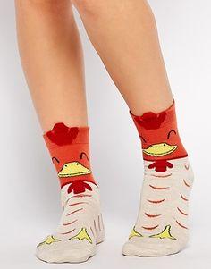 ASOS Christmas Turkey Socks With 3D Top —Amazing