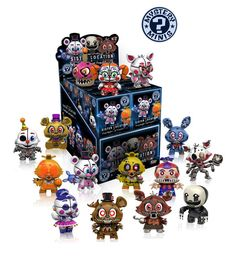 Your favorite characters from Five Nights at Freddy Series as stylized vinyl Mystery Minis from Funko! Figures stand 3 inches and comes in a mystery blind box. Check out the other Five Nights at Freddy Series 2 figures from Funko! Collect them all! Five Nights At Freddy's, Vinyl Figures, Action Figures, Funko Figures, Fnaf Sister Location, Funko Mystery Minis, Mini Blinds, Anime Fnaf, Character