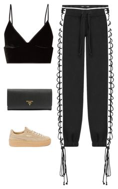 """""""Untitled #507"""" by itgirlcarlota ❤ liked on Polyvore featuring T By Alexander Wang, Puma and Prada"""