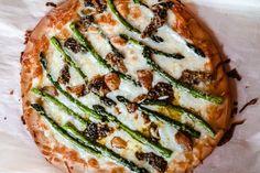 asparagus and mushroom pizza recipe