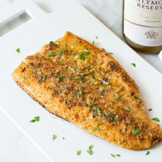 Pecan Crusted Trout (or any other fish, Tilapia?) with Meuniere Butter, via Biltmore Estate Trout Fillet Recipes, Rainbow Trout Recipes, Fish Recipes, Seafood Recipes, Speckled Trout Recipes, Pecan Crusted Rainbow Trout Recipe, Best Trout Recipe, Rainbow Trout Recipe Baked, Baked Trout Fillet