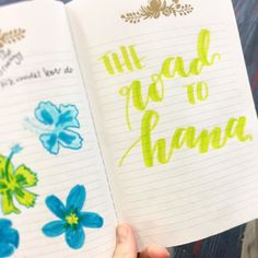 """298:: """"The road to Hana"""" // we started off the week by driving the road to Hana which is lush vibrant and has many roadside waterfalls #emletters #lettereveryday"""
