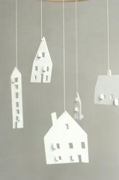 bébé mobile - pépinière mobile - mobile - mobile de mobile-maison en bois - CLOUD maisons à encaissement