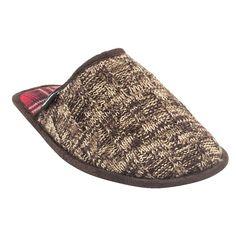 Men's Muk Luks Gavin Slide Slippers - Chocolate (Brown) L, Size: Large