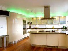 Smart Kitchen Lighting Ideas that Worth to Try - Sjoystudios Interior Modern, Interior S, Home Interior Design, Interior Designing, Modern Kitchen Lighting, Kitchen Island Lighting, Kitchen Lighting Fixtures, Cabinet Lighting, Modern Ceiling