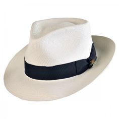 03e97a89c9e available at #VillageHatShop Fedora Hat, Beret, Casablanca, Hat Shop,  Grosgrain Ribbon