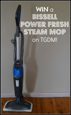 bissell power fresh steam mop giveaway