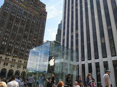 Apple Store, 5th Ave. NYC. Nueva York by mvoces